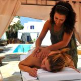 Swimming pool massage