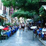 Kidathineon, a tourist road in Plaka