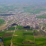 Aerial photo of Lefkonas, Serres