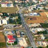 Sidirokastro junction on Serres-Thessaloniki national road