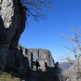 Oxia location. An awsome view spot to Vikos gorge