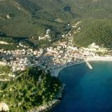 Aerial photo of Parga