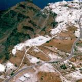 Aerial photo of Fira, Santorini