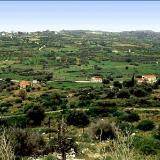 Lourdata, view of the village's fertile area