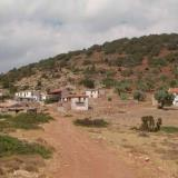 Agios Nikolaos, view of the settlement from the road that leads to Gyalinammos