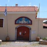 The entrance of the new monastery of St. Ioannis Prodromos