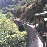 Diakopto, bridge of the rack-and-pinion railway