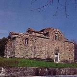 Paleochori, the byzantine church of Panagia (Kokkini Ekklisia)