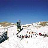 Manoeuvres on a snowboard