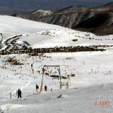 A panoramic view of the slopes