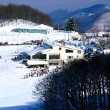 A panoramic view of the ski centre