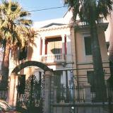 Heraklio, building of the family F. Chatzidaki (Zografou and Averof street)