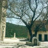 Agriani, the quaint village square