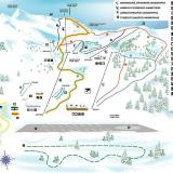 Kalavryta ski centre, a map