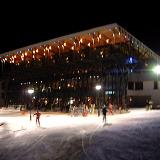Parnassos Ski Centre, a night photo