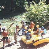Atsicholos, rafting at Loussios river