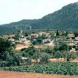Dafni Kechrion, panoramic view of the village