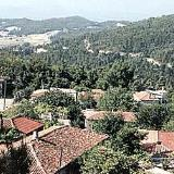 Drymona, panoramic view of the village