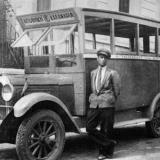 Kalamaria, the first bus in 1927