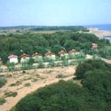 Thines, coastal environment of Vartholomio town, with rapid touristic development in latest years