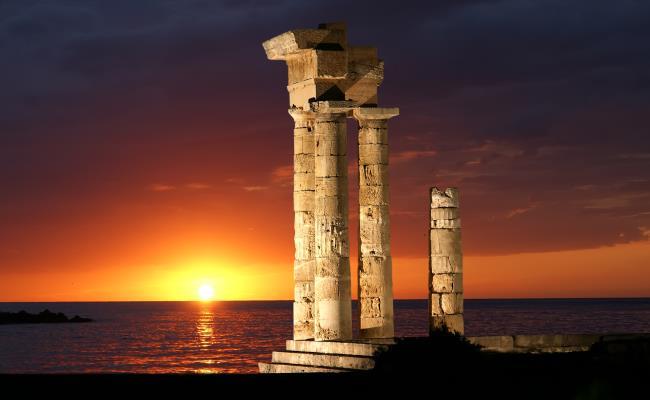 ΡΟΔΟΣ (Αρχαία πόλη) ΔΩΔΕΚΑΝΗΣΟΣ - GTP