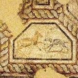 Mosaic from the baths of Filippi (3rd cent. A.D.)