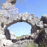 Paleros ruins of the ancient town that existed since the Mycenean era