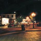 Paleros, a view of the town at night