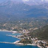 A panoramic view of Vassiliki