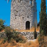 Kavalos, the half-ruined 'Kospetos' windmill