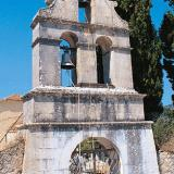 Lazarata, the Agios Dionyssios church bell-tower is at least 15o years old