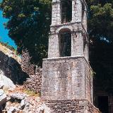 Paos, a stone bell-tower