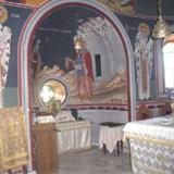 Monastery of the Virgin at Agarathos, interior part of the temple