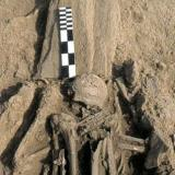 Loutra, Mesolithic Settlement of Maroula - among other finds there is a human skeleton