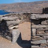 Kythnos/Messaria, Vryokastro - researches have given data on town planning & development of the era