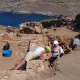 Kythnos/Messaria, Vryokastro - researches have revealed plentiful & lush finds