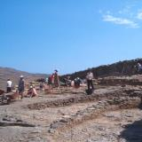 Kythnos/Messaria, Vryokastro - the walls are dated in archaic & classical eras