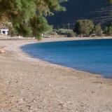 Episkopi seaside is sandy and has plenty vegetation