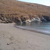 Agios Dimitrios, the Stifo beach is a bit northern