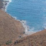 The Trivlaka beach is located on the west of Kythnos, a bit northern than Agios Dimitrios settlement