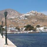 Livadi or Serifos is the port of the island, 5 kms southeast of the Chora (capital)