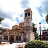 Orchomenos, the church of Evangelist Loukas at the homonymic square