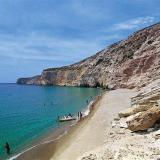 Gerakas beach; on the south coast, right on next to Agia Kyriaki beach
