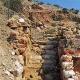 Agia Kyriaki; a prehistoric era staircase in the area