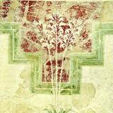 Wall fresco with wild lillies found at the famous Villa of the Lilies - Amnisos