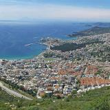 Stavros - it is located on the highest top of mountain Symbolo where Kavala is perched on
