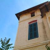 Limenaria, a close-up of the Little Palace, a double-storey mansion-house