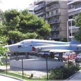 Paleo Faliro, the 'F5' airforce craft at Ikaron square