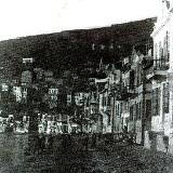 Gemlik, houses beside the sea in the past