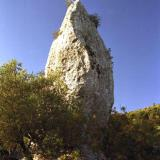 Anogi, geological menhir